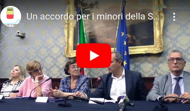 Rione Sanità nel Web: sindaco de Magistris su accordo per i minori