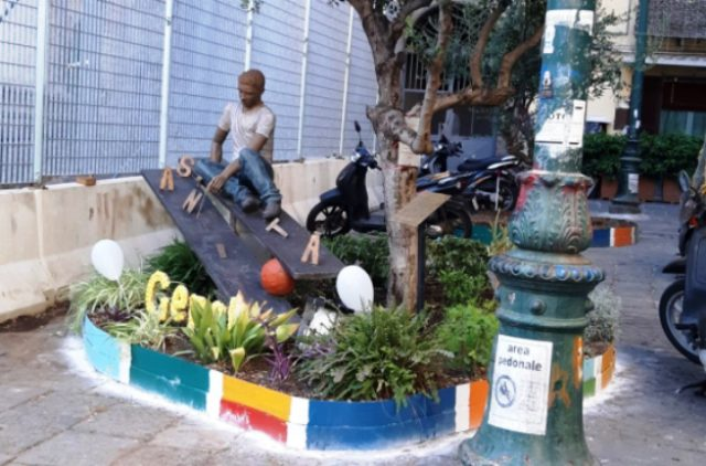 Il ricordo di Genny Cesarano a 5 anni dall'uccisione ma il 'popolo' del Rione Sanità non c'è