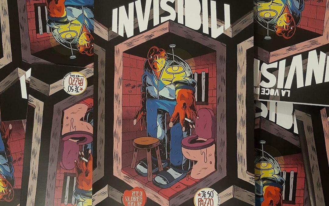 """Napoli- Incontro con gli autori del fumetto """"La Voce degli Invisibili"""""""