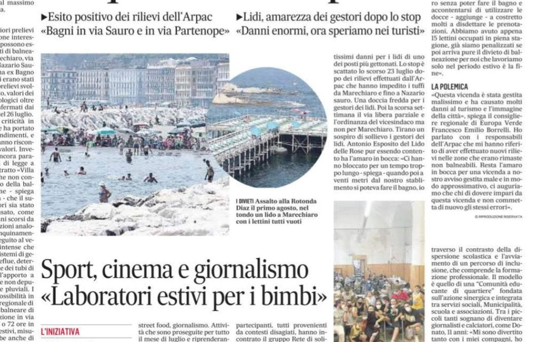 Sport, Cinema e Giornalismo- Laboratori estivi per i bimbi