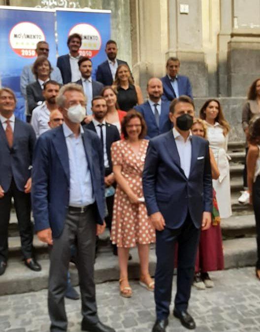 I bambini del progetto P.I.T.E.R. intervistano l'ex Premier Giuseppe Conte ed il candidato Sindaco per la città di Napoli Gaetano Manfredi