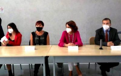 Ministra Elena Bonetti al Rione Sanità di Napoli, ha inaugurato sportello famiglie