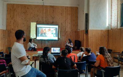 #Staytunedonhumanrights. I bambini del progetto P.I.T.E.R. approfondiscono la conoscenza della situazione mediorientale.